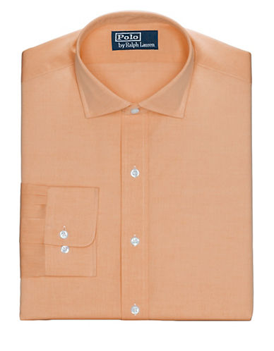 POLO RALPH LAUREN Fitted Poplin Estate Dress Shirt