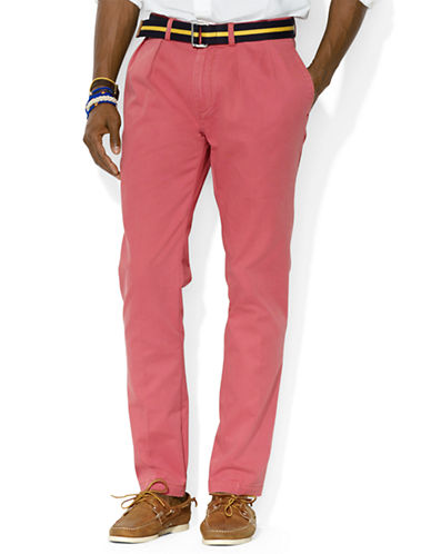 POLO RALPH LAURENClassic-Fit Pleated Chino Pants