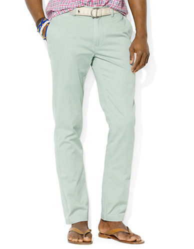 POLO RALPH LAURENClassic-Fit Flat-Front Chino Pants