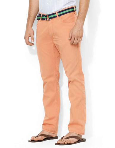 POLO RALPH LAURENStraight-Fit Five-Pocket Chino Pants