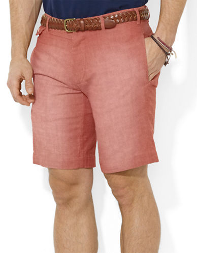 POLO RALPH LAURENStraight-Fit Kingsley Chambray Shorts