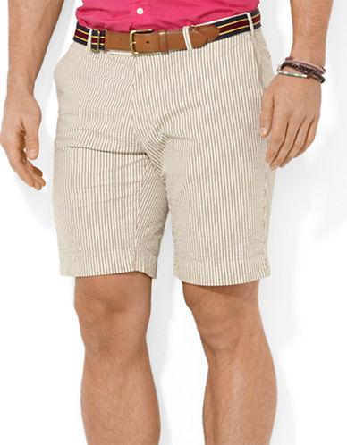 POLO RALPH LAURENClassic-Fit Hudson Seersucker Shorts