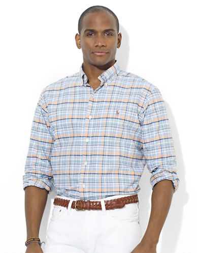 POLO RALPH LAURENClassic-Fit Checked Oxford Sport Shirt