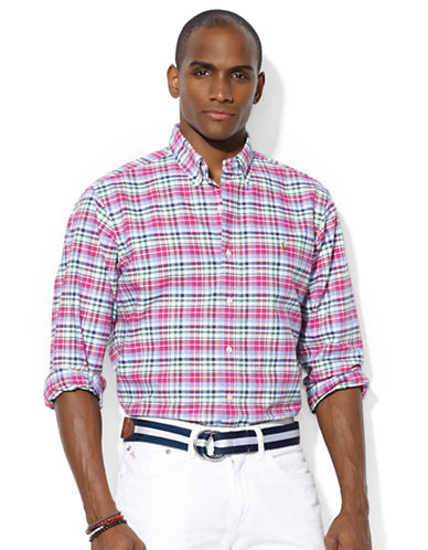 POLO RALPH LAUREN Classic-Fit Checked Oxford Sport Shirt