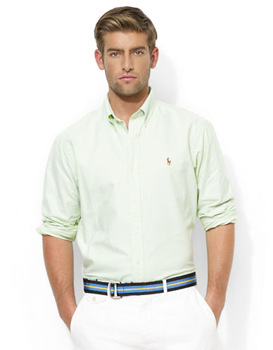 POLO RALPH LAURENClassic-Fit Solid Oxford Sport Shirt