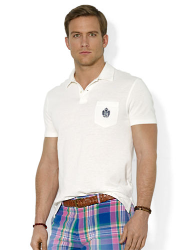 POLO RALPH LAUREN Heritage Crest Pocket Polo Shirt