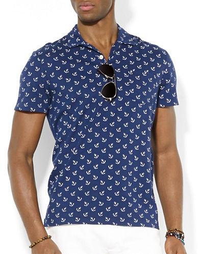 POLO RALPH LAURENAnchor-Print Jersey Polo Shirt