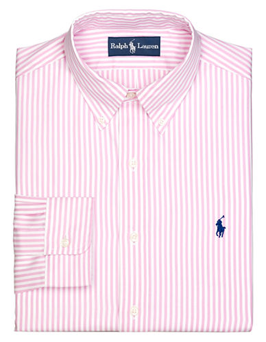 POLO RALPH LAUREN Regular Fit Striped Oxford Button-Down Dress Shirt