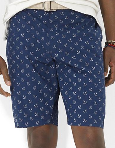 POLO RALPH LAURENSlim-Fit Hudson Anchor-Print Shorts