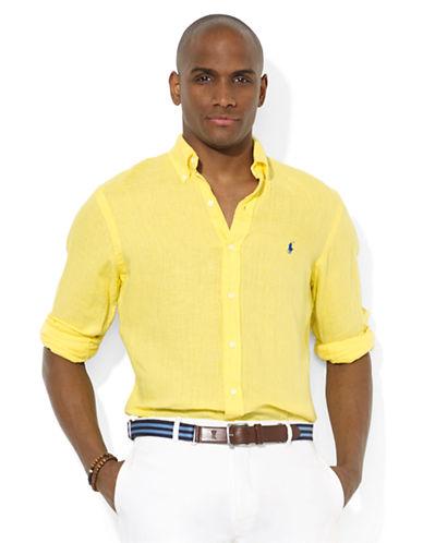 POLO RALPH LAURENCustom-Fit Linen Sport Shirt