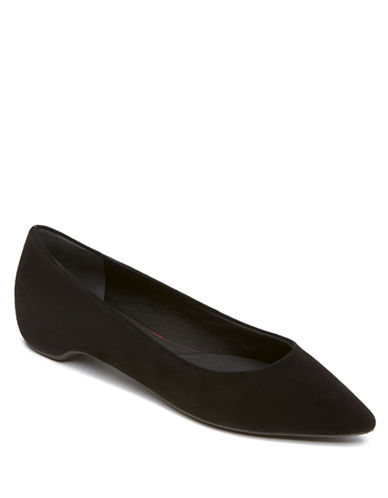 ROCKPORT Total Motion Suede Flats