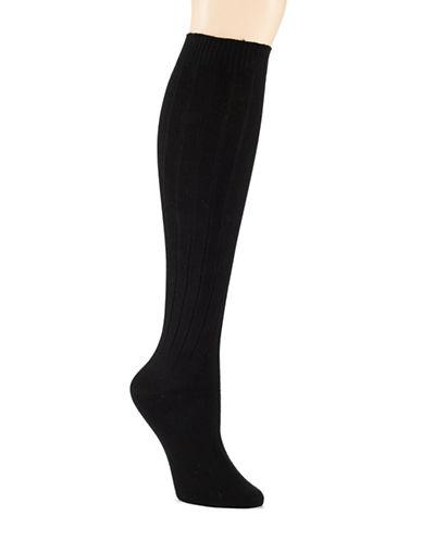 HUESoft Rib Knee Socks