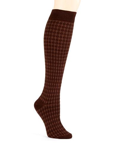 HUETextured Knee Socks