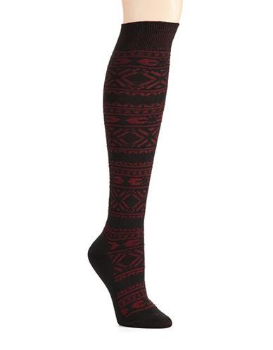 HUEFair Isle Knee Socks