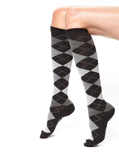 HUEArgyle Knee Socks