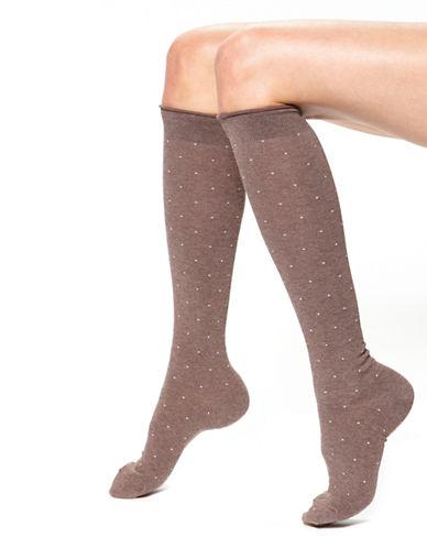 HUEDotted Knee Socks