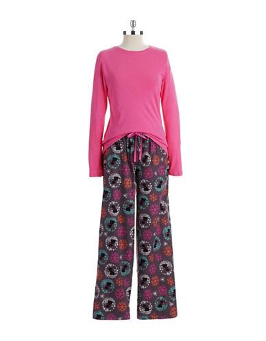 HUETwo Piece Pajama Set