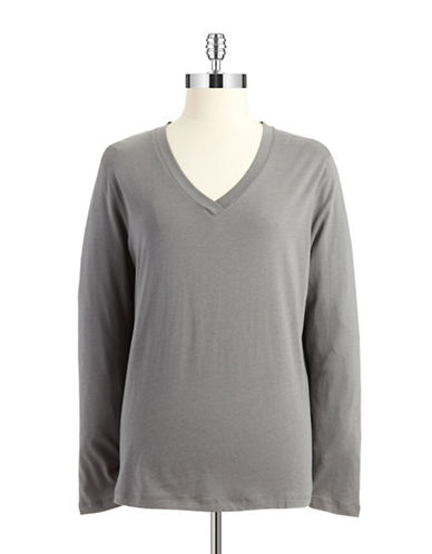 HUE V Neck Sleep Tee