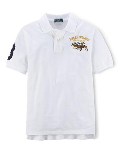 RALPH LAUREN CHILDRENSWEARBoys 8-20 Mesh Polo Shirt