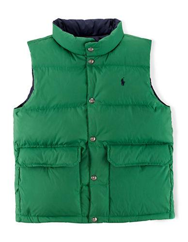 RALPH LAUREN CHILDRENSWEARBoys 8-20 Reversible Elmwood Vest