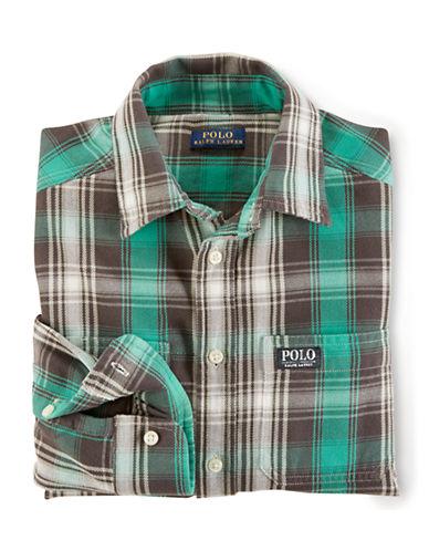 RALPH LAUREN CHILDRENSWEARBoys 8-20 Rugged Shirt