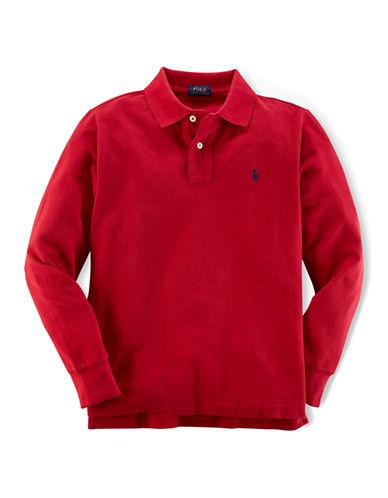 RALPH LAUREN CHILDRENSWEARBoys 8-20 Long Sleeve Polo Shirt