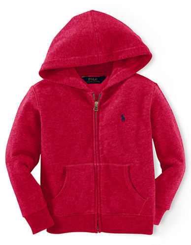 RALPH LAUREN CHILDRENSWEAR Boys 8-20 Zip-Up Hoodie
