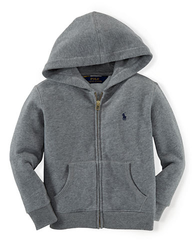 RALPH LAUREN CHILDRENSWEAR Boys 8-20 Full-Zip Hoodie
