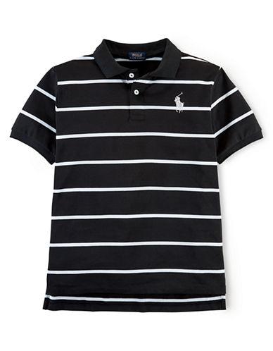RALPH LAUREN CHILDRENSWEARBoys 8-20 Pique Mesh Polo Shirt