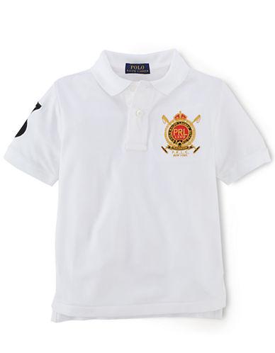 RALPH LAUREN CHILDRENSWEARBoys 8-20 Stretch Polo Shirt