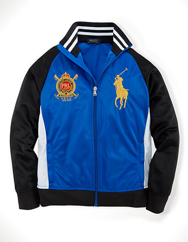 RALPH LAUREN CHILDRENSWEAR Boys 8-20 Track Jacket