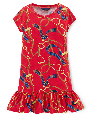 RALPH LAUREN CHILDRENSWEARGirls 2-6x Cotton T Shirt Dress