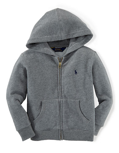 RALPH LAUREN CHILDRENSWEAR Boys 2-7 Zip-Up Hoodie