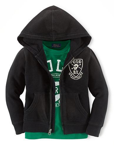 RALPH LAUREN CHILDRENSWEARBoys 2-7 Skull & Crossbones Hooded Sweatshirt