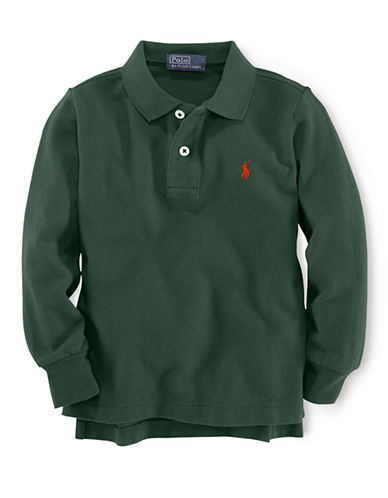 RALPH LAUREN CHILDRENSWEARBoys 2-7 Long-Sleeved Polo Shirt