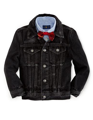 RALPH LAUREN CHILDRENSWEARBoys 2-7 Denim Trucker Jacket