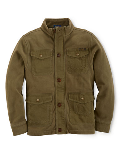 RALPH LAUREN CHILDRENSWEAR Boys 2-7 Military Inspired Jacket