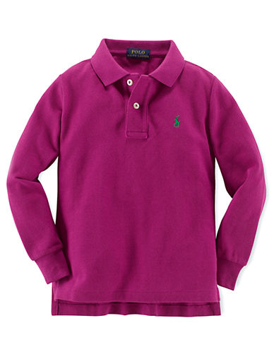 RALPH LAUREN CHILDRENSWEARBoys 2-7 Long-Sleeve Polo Shirt
