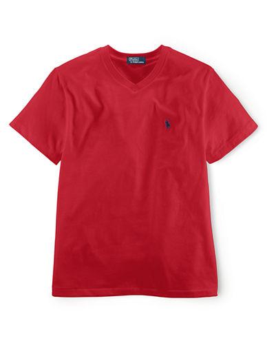 RALPH LAUREN CHILDRENSWEARBoys 2-7 V-Neck Cotton T-Shirt