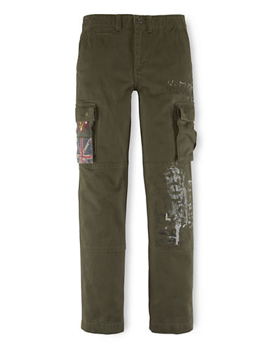 RALPH LAUREN CHILDRENSWEAR Boys 2-7 Cotton Chino Pants
