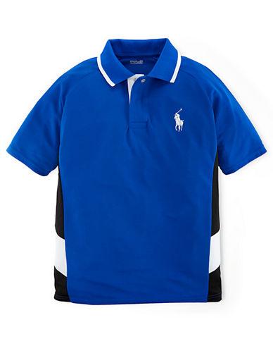 RALPH LAUREN CHILDRENSWEARBoys 8-20 Active Mesh Polo Shirt