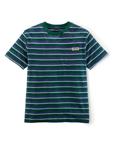 RALPH LAUREN CHILDRENSWEAR Boys 8-20 Cotton Tee