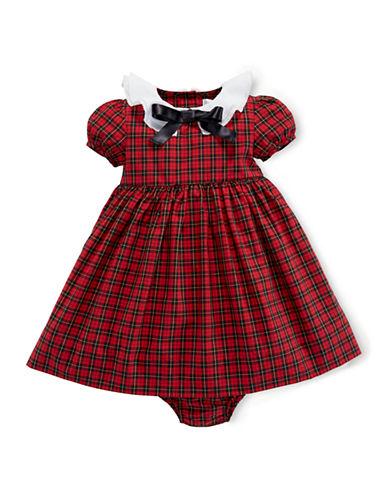 Shop Ralph Lauren Childrenswear online and buy Ralph Lauren Childrenswear Baby Girls Poplin Dress dress online