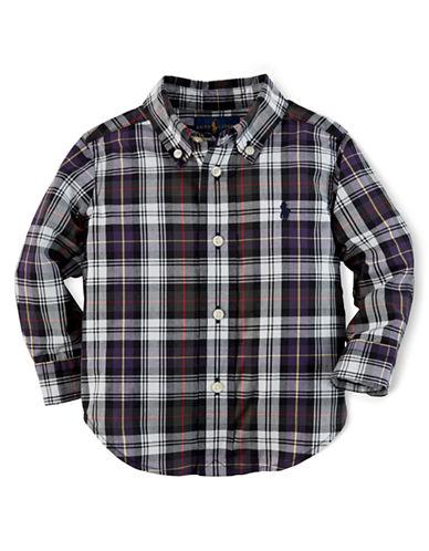 RALPH LAUREN CHILDRENSWEARBoys 2-7 Plaid Cotton Poplin Shirt