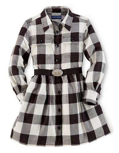 RALPH LAUREN CHILDRENSWEARGirls 2-6x Western Inspired Shirt Dress