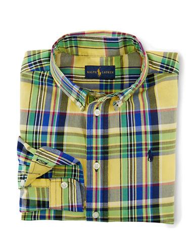 RALPH LAUREN CHILDRENSWEARBoys 2-7 Blake Plaid Shirt