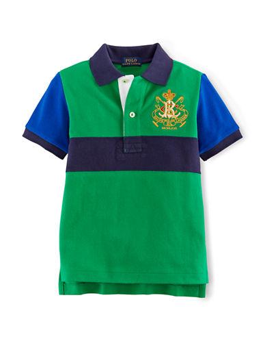 RALPH LAUREN CHILDRENSWEARBoys 2-7 Colorblocked Polo Shirt