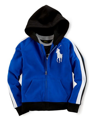 RALPH LAUREN CHILDRENSWEAR Boys 8-20 Zip Up Hoodie