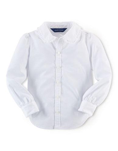 RALPH LAUREN CHILDRENSWEARGirls 2-6x Cotton Long Sleeve Blouse