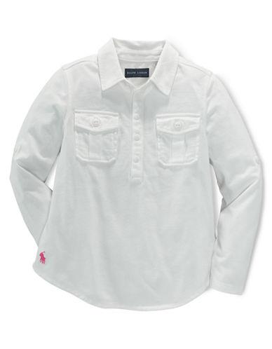 RALPH LAUREN CHILDRENSWEARGirls 2-6x Cotton-Modal Blend Tunic